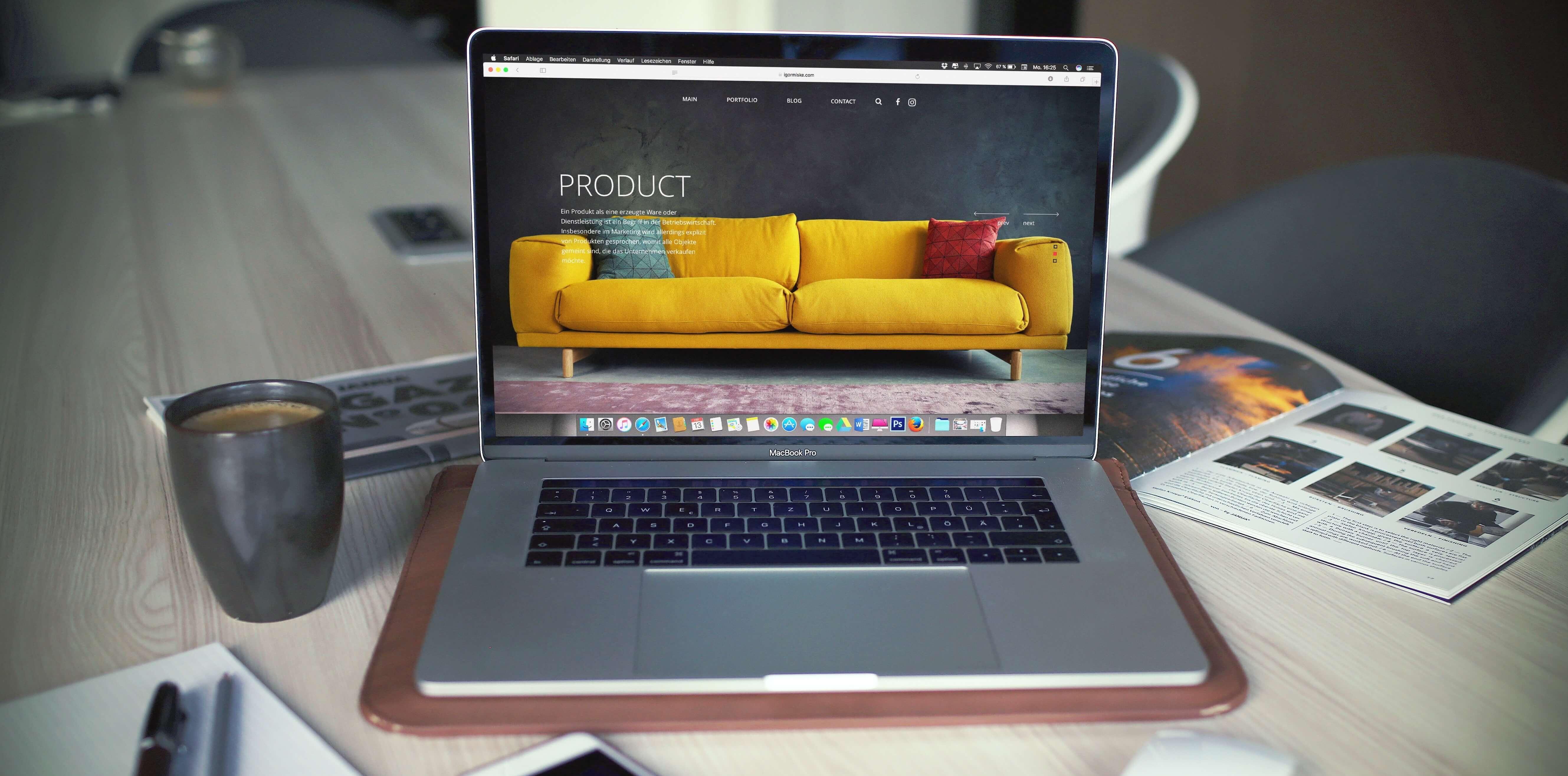 Produktmanager in der Konsumgüterindustrie